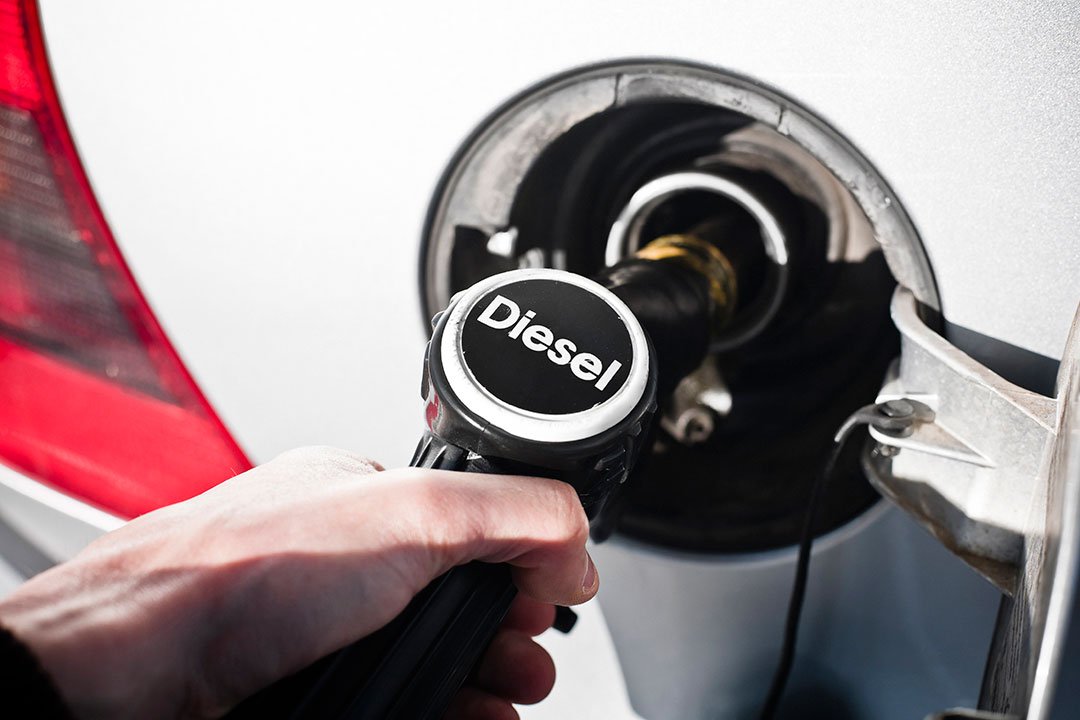 Diesel pump - air quality
